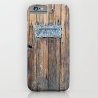 iPhone & iPod Case featuring Old Door by Yield Media
