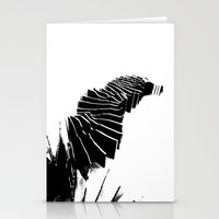 Landscape model sections Stationery Cards