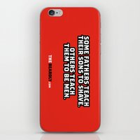 SOME FATHERS TEACH THEIR… iPhone & iPod Skin