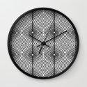 Illusion - Black & White Wall Clock