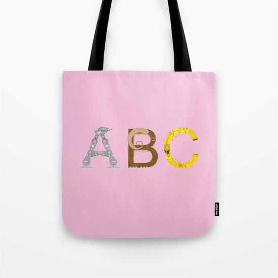 mAY BEE SEE be with you! (pink) Tote Bag