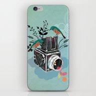 Vintage Camera Hasselbla… iPhone & iPod Skin