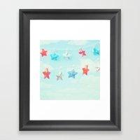 Oh My Stars... Framed Art Print