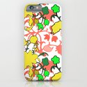 Lila's Flowers Repeat iPhone & iPod Case
