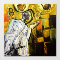 Breakfast On Park Road I… Canvas Print