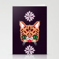 Lil Bub Geometric Patter… Stationery Cards