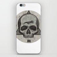 Skull & symbols iPhone & iPod Skin