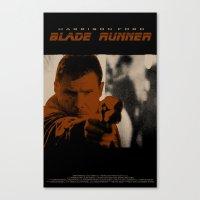 Blade Runner - Deckard Canvas Print
