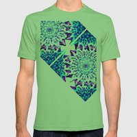 METTA Mens Fitted Tee Grass SMALL