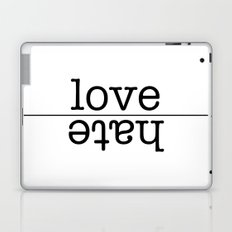 love conquers all Laptop & iPad Skin