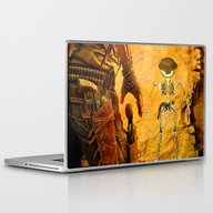 Duel Pour Monsieur Bone  Laptop & iPad Skin