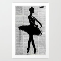 en-pointe Art Print