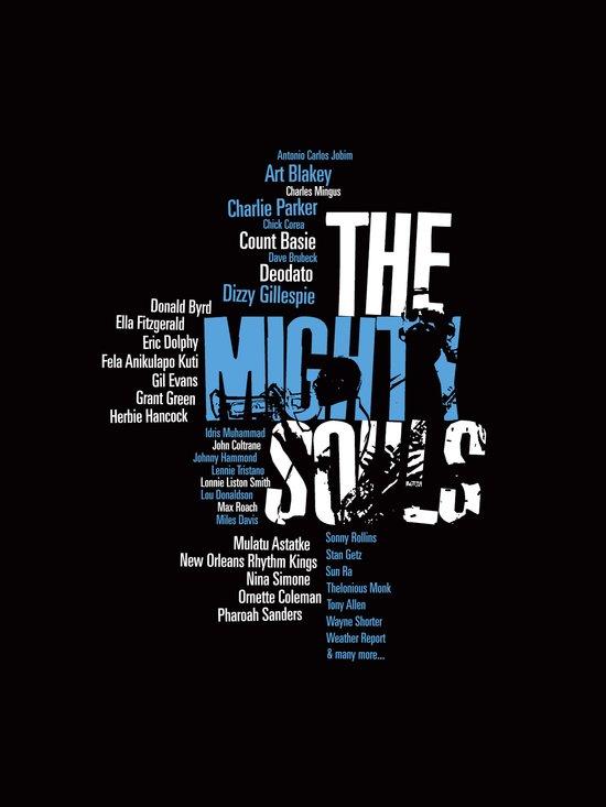 The Mighty Souls: Jazz Legends Art Print