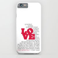 LOVE. 1 Corinthians 13:4-8. iPhone 6 Slim Case