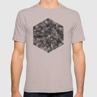 Panelscape - #5 society6 custom generation Mens Fitted Tee Cinder SMALL