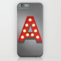 A - Theatre Marquee Letter iPhone 6 Slim Case