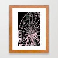 FairyWheel Framed Art Print