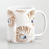 Nautilus - linen Mug