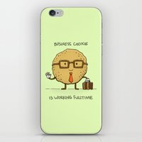 Fulltime Cookie iPhone & iPod Skin