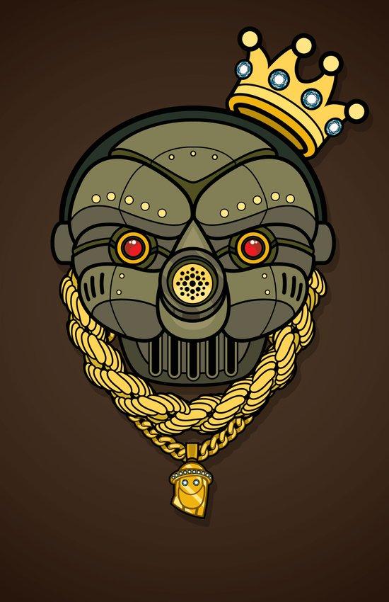 All City King G.A.S. Mask Art Print