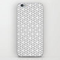 Karthuizer Grey & White … iPhone & iPod Skin