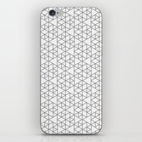 Karthuizer Grey & White Pattern iPhone & iPod Skin
