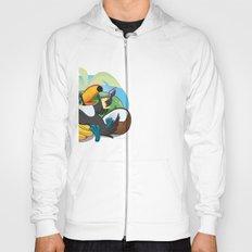 Tropical toucan Hoody