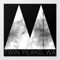 Twin Peaks, WA (White Lodge) Canvas Print
