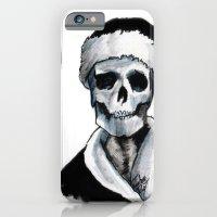 Blackest Ever Black Xmas iPhone 6 Slim Case