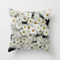 Daisyland Throw Pillow