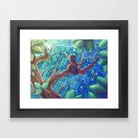 Hideout Framed Art Print