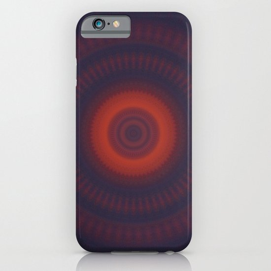 Sunset Mandala iPhone & iPod Case