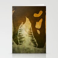 Jurassic Minimalist Stationery Cards