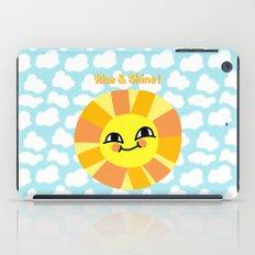 Rise and Shine! iPad Case