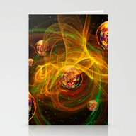 Chaos Creating Universe … Stationery Cards