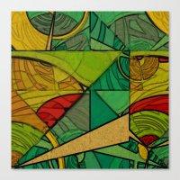Tropical Farm Canvas Print