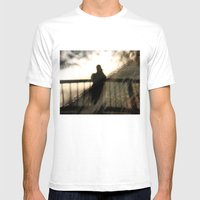 Ghostly Mens Fitted Tee White SMALL