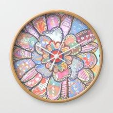 Florem Terrae Bright Wall Clock