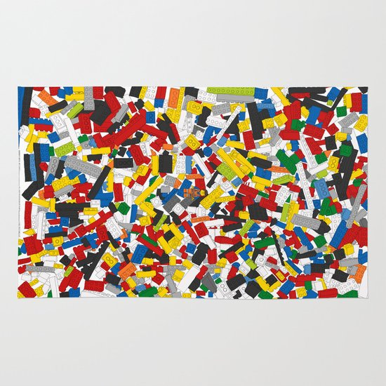 The Lego Movie Rug By Martin Lucas Society6