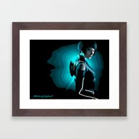 Quorra Framed Art Print