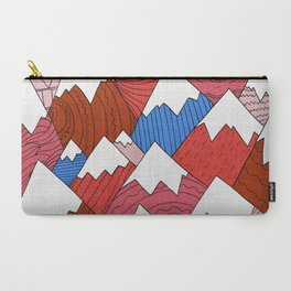 Carry-All Pouch - The Red Mountains (Pattern) -  Steve Wade ( Swade)