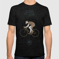 Riders on the Storm Mens Fitted Tee Tri-Black SMALL