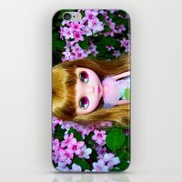 FLORAL BLYTHE II iPhone & iPod Skin