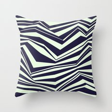 Fracture Throw Pillow