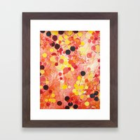 PERSONAL BUBBLE - Hot Pi… Framed Art Print