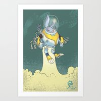 Astro Zodiac Force 04: R… Art Print