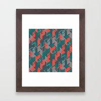 NEO GEO Framed Art Print