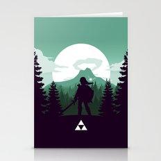 The Legend Of Zelda - Gr… Stationery Cards