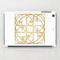 Golden Ropes iPad Case