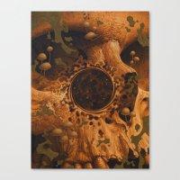 Decay Canvas Print